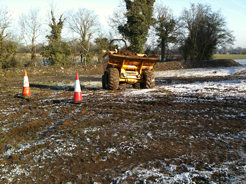 Forward Tipping Site Dumper