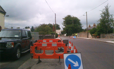 Signing, Lighting and Guarding at Roadworks